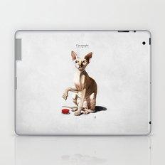 Cat-astrophe Laptop & iPad Skin