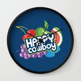 Jolly Ranchers Are Just Happy Cowboys Wall Clock