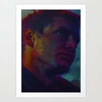 Deckard: Blade Runner Screenplay Print Art Print