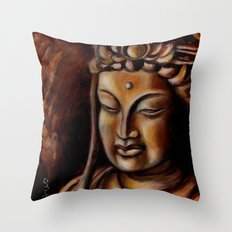 Face of Mercy No. Two Throw Pillow