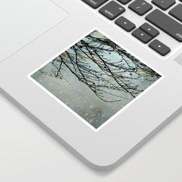 Winter Days Sticker