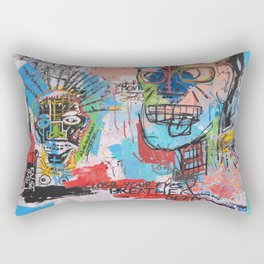 Close your eyes and breathe deeply Rectangular Pillow