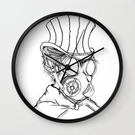 Jane th Ripper Wall Clock