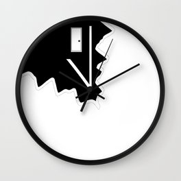 Clock. Coming Home. Wall Clock