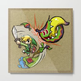 Legend of Zelda Wind Waker Boko Baba T-Shirt Metal Print