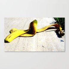 Banana Peel Canvas Print