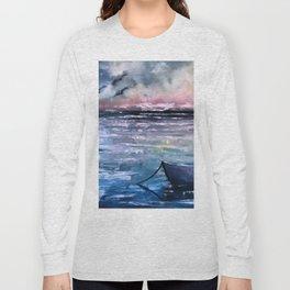Coucher de soleil sur mer Long Sleeve T-shirt