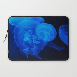 Blue Jelly Fish Laptop Sleeve