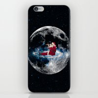 santa iPhone & iPod Skins featuring Santa by Cs025