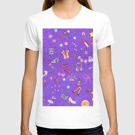 girls Life, lilac T-shirt