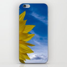 Concept Sunflower Greetingcards iPhone Skin