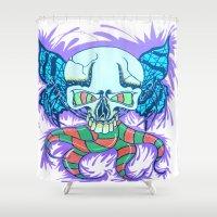 creativity Shower Curtains featuring Creativity  by Edgar Huaracha