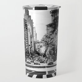 New York City Streets Contrast Travel Mug