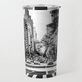 New York City Streets Contrast Travel Mug