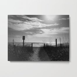 dunes of the carolinas Metal Print