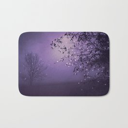 SONG OF THE NIGHTBIRD - LAVENDER Bath Mat
