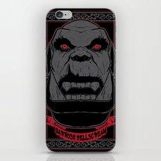 Garrosh iPhone & iPod Skin