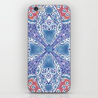 greek iPhone & iPod Skins featuring Greek Summer by RED ROAD STUDIO