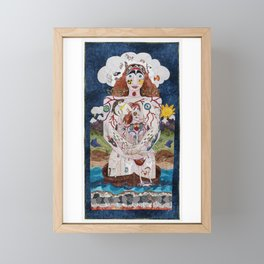 All Stacked Up in My Head Framed Mini Art Print