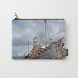 Whaling Ship with Gun Carry-All Pouch