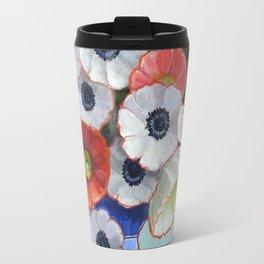 A Pitcher of Anenomes Travel Mug