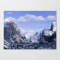 yosemite Canvas Prints featuring Yosemite by Ian Bevington