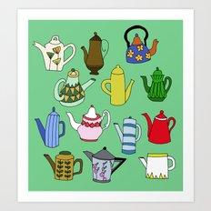 cup of cha.. Art Print
