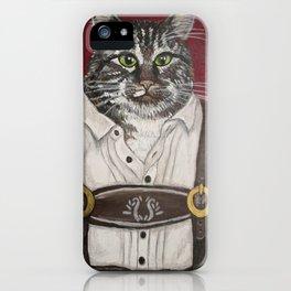 Hans the Cat iPhone Case