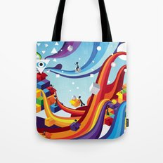 Open up Tote Bag