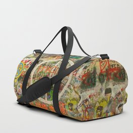 Peace Sign - Love - Graffiti Duffle Bag