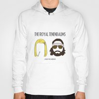 the royal tenenbaums Hoodies featuring The Royal Tenenbaums by gokce inan