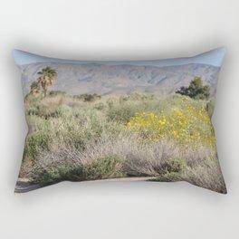 Desert Scene 7 Coachella Valley Wildlife Preserve Rectangular Pillow