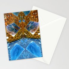 Deco Metro Mirror Stationery Cards