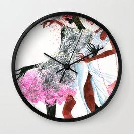galina sokolova MODEL CITIZENS Wall Clock