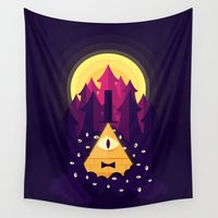 bill Wall Tapestries featuring BILL by badOdds