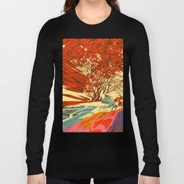 A bird never seen before - Fortuna series Long Sleeve T-shirt