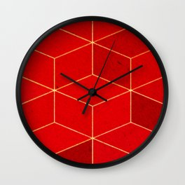 Solid at First Glance Wall Clock