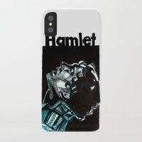 hamlet iPhone & iPod Cases featuring Barbican Hamlet by aleksandraylisk