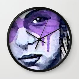 The Eyes Have It Wall Clock