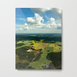 Greenfields Metal Print