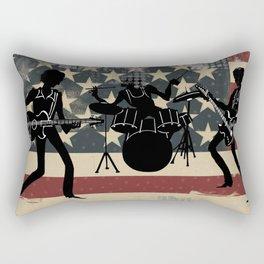 Rock America Rectangular Pillow