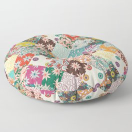 sarilmak patchwork Floor Pillow