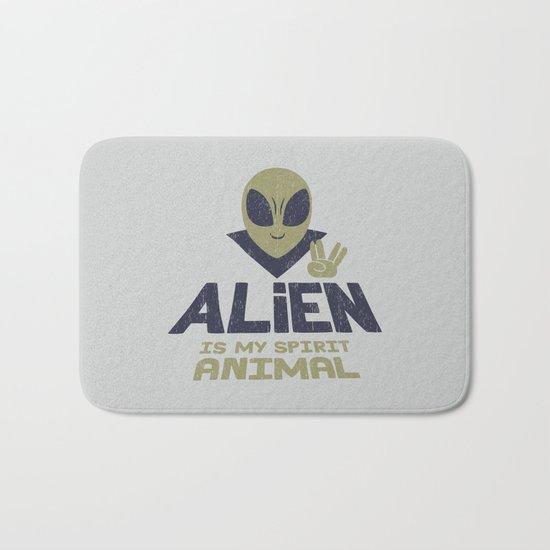 Alien Is My Animal Spirit Bath Mat