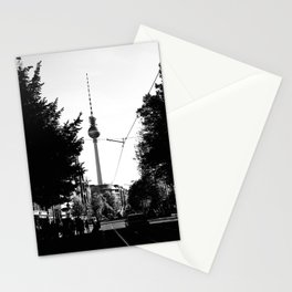 Berlin's streets in black and white 3 Stationery Cards