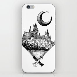 The wizards castle iPhone Skin