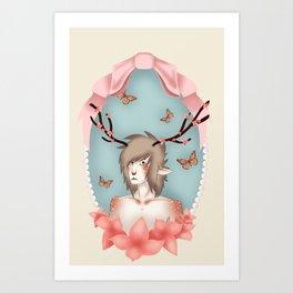 faun boy Art Print