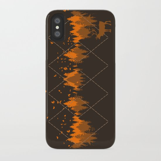 Tradicional Nature Pattern iPhone Case
