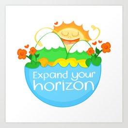 Expand Your Horizon Art Print