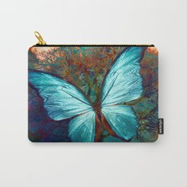 The Blue butterfly Carry-All Pouch