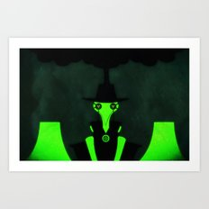 My Meltdown At Midnight Art Print